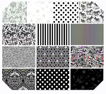Linework 13 Fat Quarter Set by Tula Pink for Free Spirit