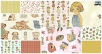 Paper Dolls 10 Piece Bundle by Sheryl Rae Marquez for Windham