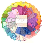True Colors Charm Pack by Tula Pink for Free Spirit