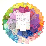 New True Colors 42 Fat Quarter Set by Tula Pink for Free Spirit