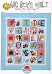 ABC Boys Quilt Pattern by Red Brolly