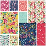 Abloom Fusion 10 Fat Quarter Set by Art Gallery