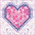 All Of My Heart Quilt Pattern by Stacy Iest Hsu