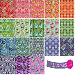 All Stars Prints 18 Fat Quarter Set by Tula Pink for Free Spirit