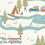 Camp Sur Organic CS-01 Big Sur by Birch Fabrics