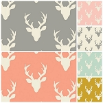 Buck Forest 6 Fat Quarter Set by Art Gallery Fabrics
