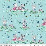 Strawberry Biscuit C5102 Blue Play Date by Elea Lutz for Penny Rose