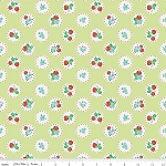 Strawberry Biscuit C5103 Green Scallop by Elea Lutz for Penny Rose