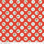 Strawberry Biscuit C5103 Red Scallop by Elea Lutz for Penny Rose
