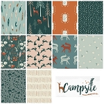 Campsite 10 Fat Quarter Set by Art Gallery