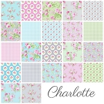 Charlotte 22 Fat Quarter Set by Tanya Whelan for Free Spirit