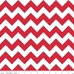 Chevron Medium C320-80 Red by Riley Blake EOB