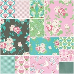 Chloe 13 Fat Quarter Set by Tanya Whelan for Free Spirit