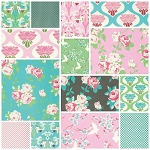 Chloe 14 Fat Quarter Set by Tanya Whelan for Free Spirit