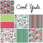 Cool Yule 8 Fat Quarter Set by Josephine Kimberling for Blend