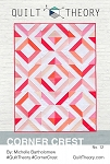 Corner Crest Quilt Pattern by Quilt Theory