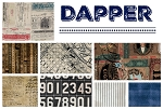 Dapper 8 Fat Quarter Set by Tim Holtz for Coats