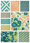 Flora 9 Fat Quarter Set by Joel Dewberry for Free Spirit