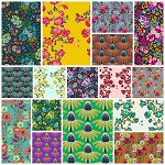 Floral Retrospective 16 Fat Quarter Set by Free Spirit