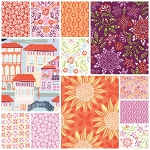 Grand Canal 12 Fat Quarter Set in Ombra by Kate Spain for Moda