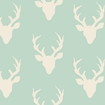 Hello, Bear HBR-4434-1 Mint Buck Forest by Art Gallery