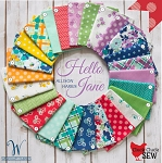 Hello Jane 25 Fat Quarter Set by Allison Harris for Windham