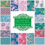 Hotel Frederiksted 18 Fat Quarter Set by Free Spirit