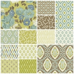 Ibiza 13 Fat Quarter Set by Rosemarie Lavin for Windham