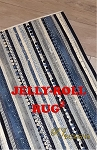 Jelly Roll Rug 2 Pattern by R.J. Designs
