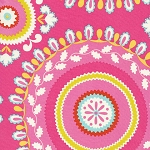 Kumari Garden DF092 Pink Jeevan by Dena Designs for Free Spirit