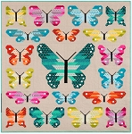 Lepidoptera Quilt Kit by Elizabeth Hartman for Robert Kaufman