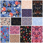 Les Fleurs 13 Fat Quarter Set by Rifle Paper Co for Cotton + Steel