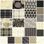 Little Black Dress 23 Fat Quarter Set by Basic Grey for Moda