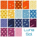 Luna Sol 18 Fat Quarter Set by Felice Regina for Windham