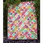 Maze of Color Quilt Kit by Tina Givens for Free Spirit