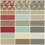Merton 21 Fat Quarter Set by Morris & Co for Free Spirit