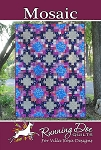 Mosaic Quilt Pattern by Running Doe Quilts
