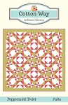 Peppermint Twist Quilt Pattern by Cotton Way