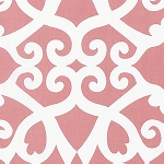 Meadow PWDF244 Coral Clover Damask by Free Spirit