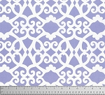 Meadow PWDF244 Purple Clover Damask by Free Spirit