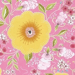 Isabelle PWDF246 Pink Fleurette by Dena Designs for Free Spirit