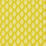 Isabelle PWDF250 Yellow Leaf by Dena Designs for Free Spirit