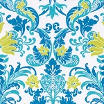 Sunny Isle PWJP123 Blue Dawn by Jennifer Paganelli for Free Spirit