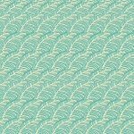 Piecemeal PWTG194 Aqua Leafy Path by Tina Givens for Free Spirit