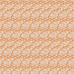 Piecemeal PWTG194 Orange Leafy Path by Tina Givens for Free Spirit