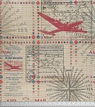 Correspondence PWTH046-8 Red In Transit by Tim Holtz for Coats