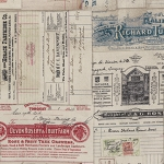 Dapper PWTH058-8 Multi Vintage Receipts by Tim Holtz for Coats