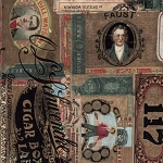 Dapper PWTH061-8 Multi Cigar Box Labels by Tim Holtz for Coats