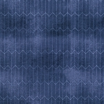 Dapper PWTH067-8 Blue Chalk Lines by Tim Holtz for Coats