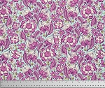 Chipper PWTP079 Raspberry Wild Vines by Tula Pink for Free Spirit